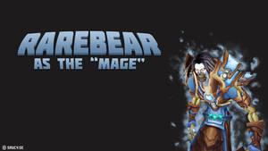 Rarebear the Mage by NinjaSaus
