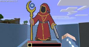 Minecraft - Magicka Wizard by NinjaSaus