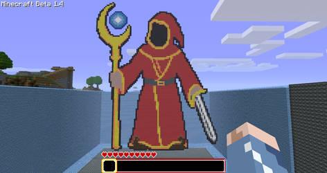 Minecraft - Magicka Wizard