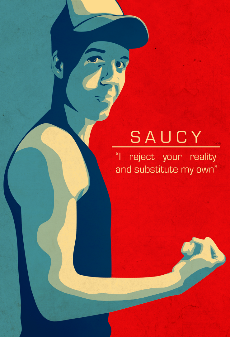 Saucy Portrait by NinjaSaus
