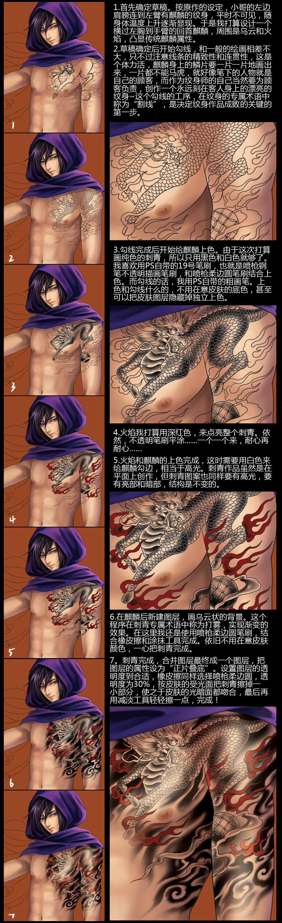 Kirin tattoo teaching by starkey01