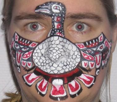 Tribal Bird by connyberghmans