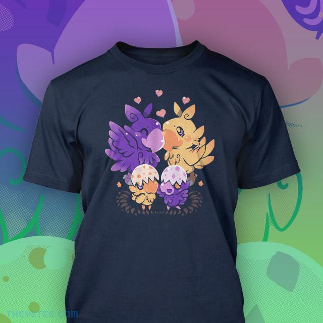Loving Choco Family Shirt Print Mockup by TechraNova