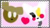 SpringTrap X Mangle Stamp by MinoPastel