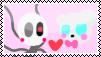 Ennard X Funtime Freddy Stamp by MinoPastel
