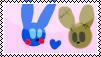 PlushBon X PlushTrap Stamp by MinoPastel