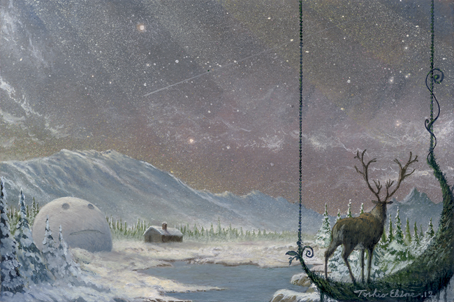 snow light by Ebineyland