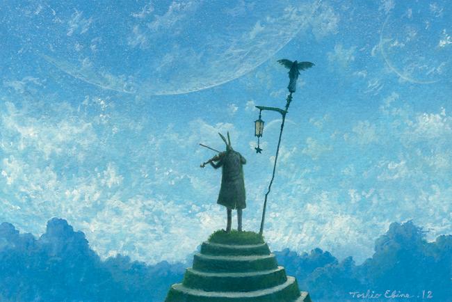 soloist in the wind by Ebineyland
