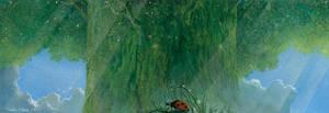 Tree of Firefly by Ebineyland