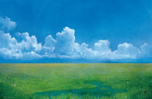 Into the grassland