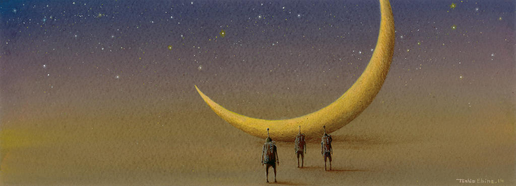 Crescent Monolith by Ebineyland