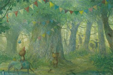 behind the Oz by Ebineyland