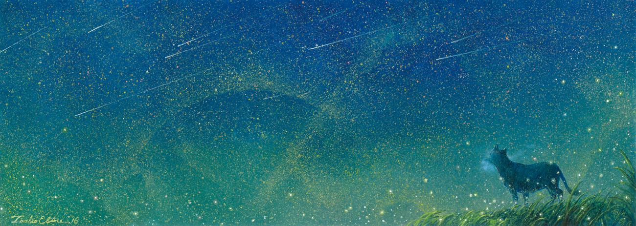 Starry wind by Ebineyland