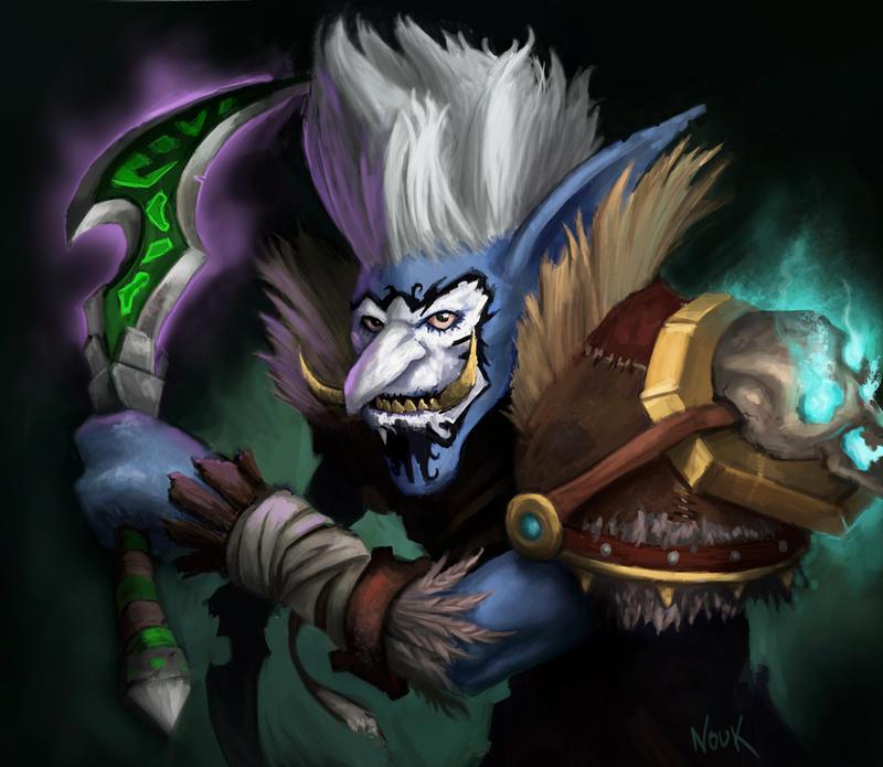 WoW Fanart Troll Rogue By TheNouk On DeviantArt