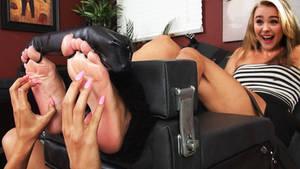 Chlo Grace Moretz tickling fake 2