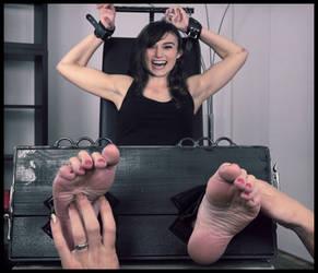 Keira Knightley tickling fake by pepecoco