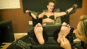 Daisy Ridley tickle fake