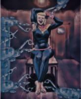 Carol Danvers tickling torture by pepecoco