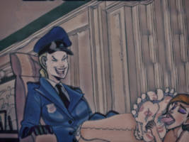 Officer Woman Tickling Torture by pepecoco