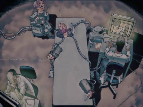 Cyborg Woman Tickling