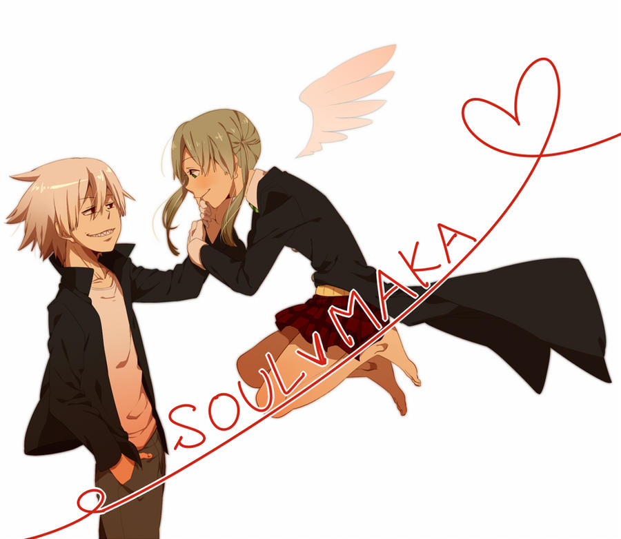 soul and maka by yumekichi