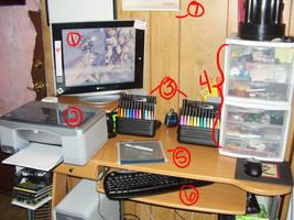 My Workspace by garbagepicker