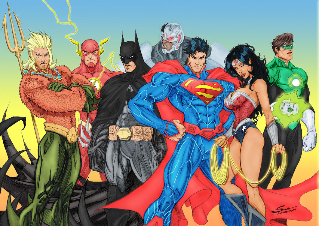 Justice League! by J-Skipper