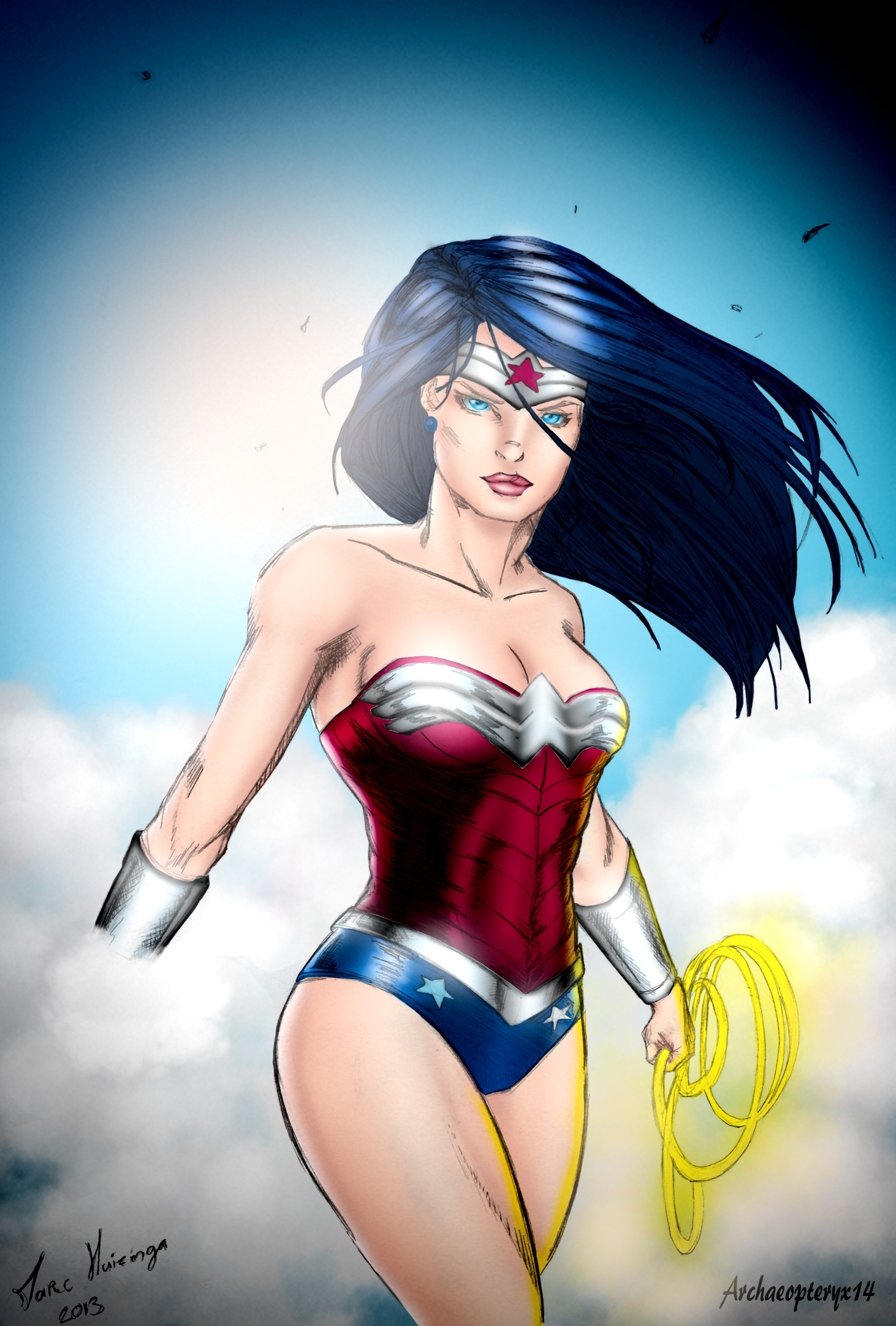 Wonder Woman by J-Skipper