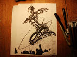 Catwoman - Hand Inks