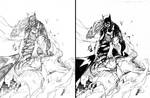 Batgirl  - Hand inked