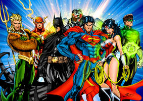 The Justice League! by J-Skipper