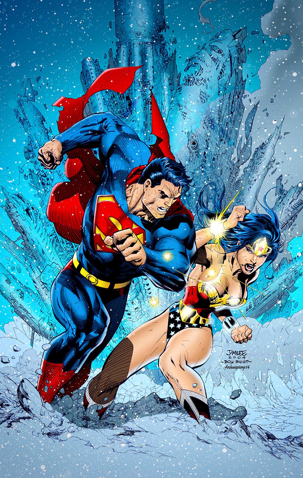 Superman #211 Cover by J-Skipper