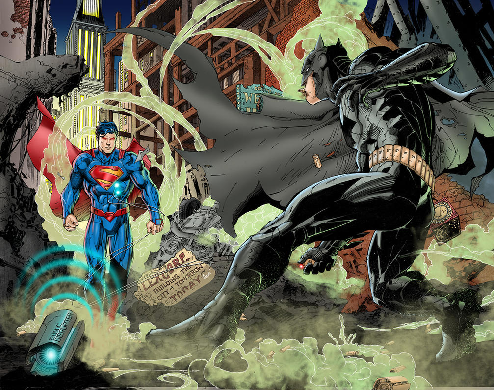 Batman Vs Superman By J Skipper