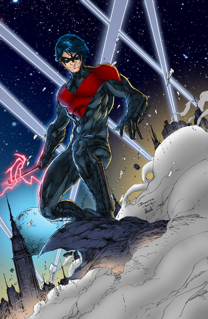 Nightwing by J-Skipper