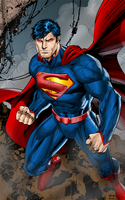 Man of Steel II by J-Skipper