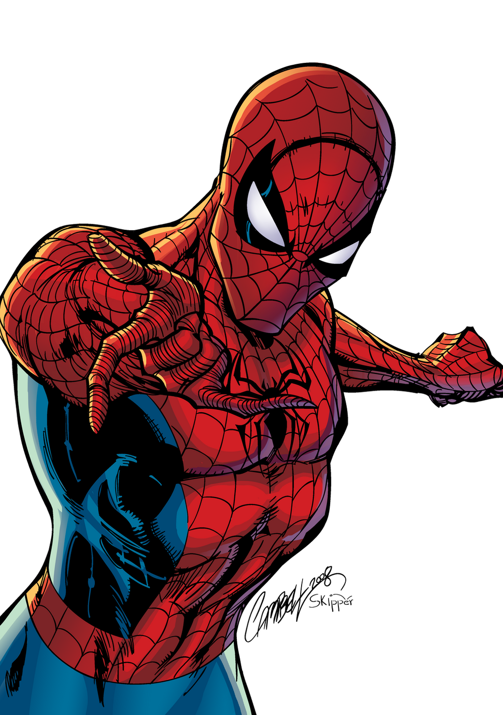 Spiderman colors by J-Skipper