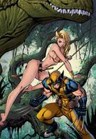 Savage Wolverine by J-Skipper