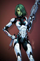 Gamora by J-Skipper
