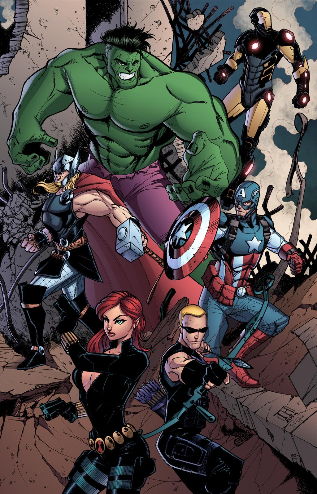 Marvelous Heroes by J-Skipper