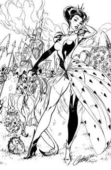 Queen of Hearts - Inks
