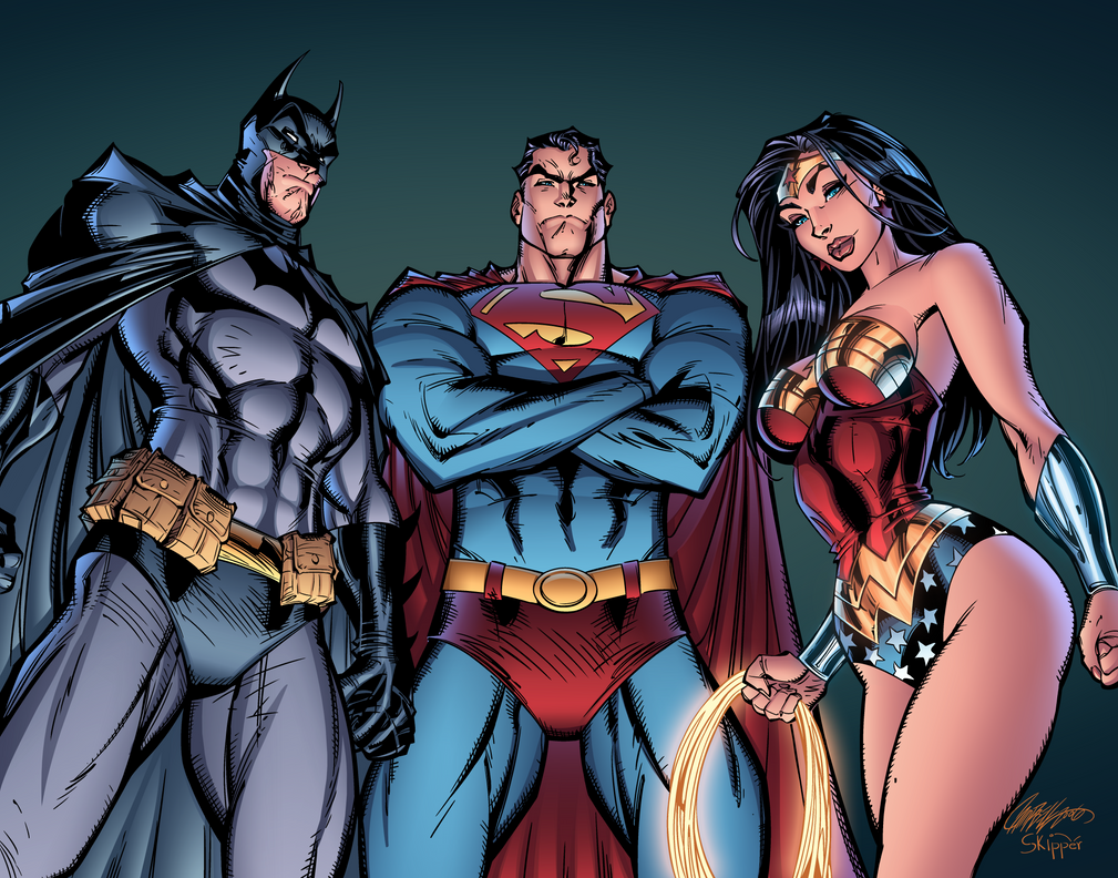 The Women Of Dc Comics Ink In Adam Withers S Dc Comics: Daily @deviantART Picks For 07/23/2014 #Superman