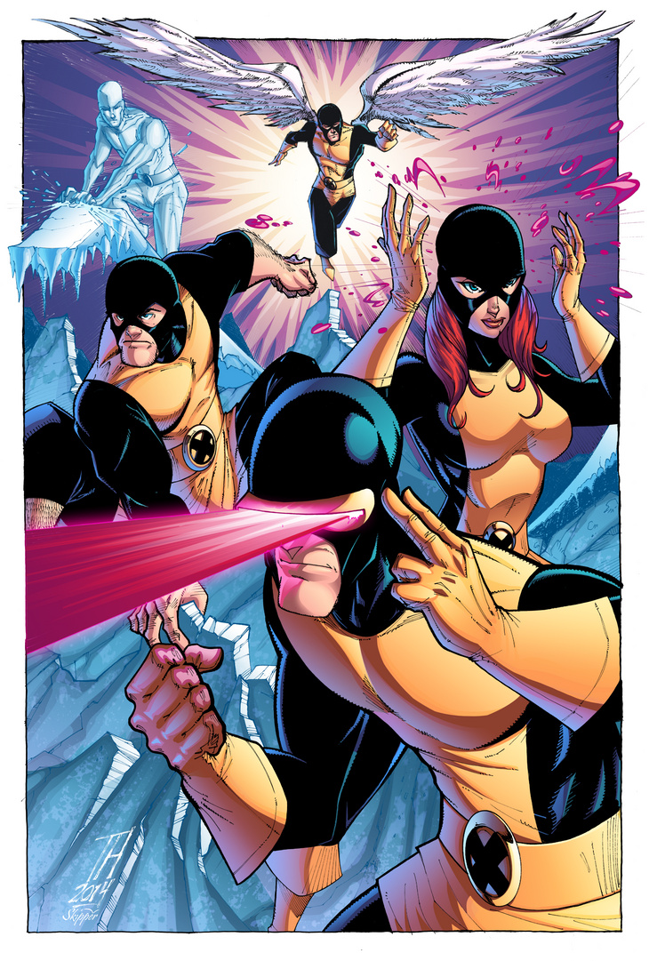 The X-Men by J-Skipper
