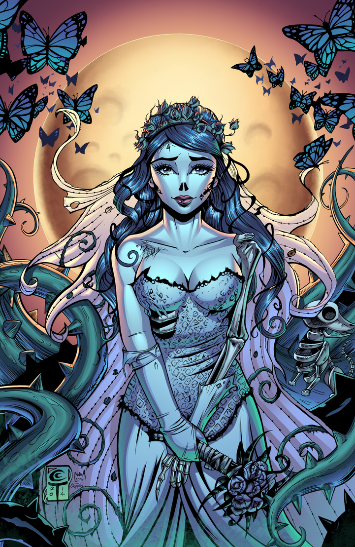 The Corpse Bride by J-Skipper