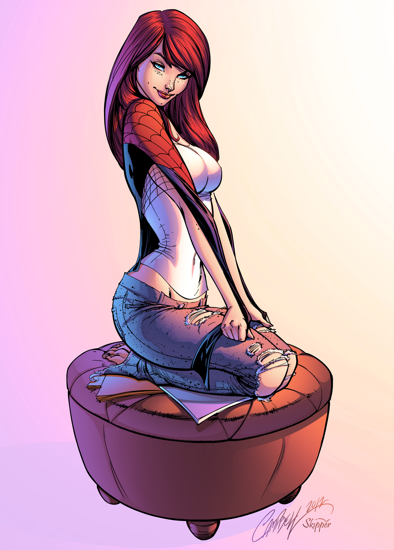 Mary Jane Watson by J-Skipper on DeviantArt