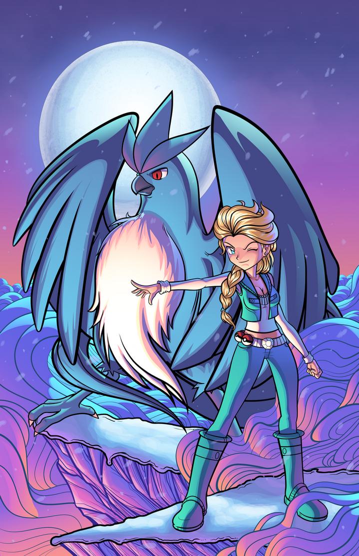 Pokemon Trainer: Elsa by J-Skipper
