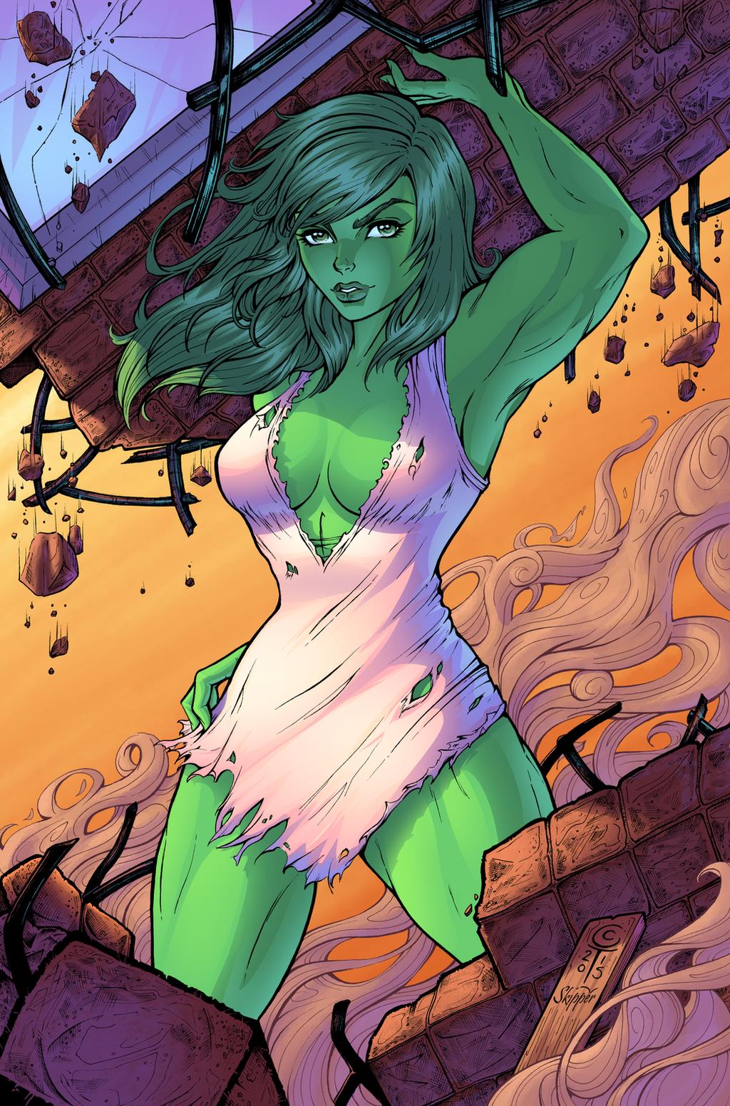 She Hulk by J-Skipper