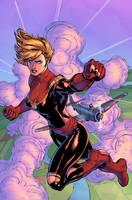 Captain Marvel - Ascension by J-Skipper