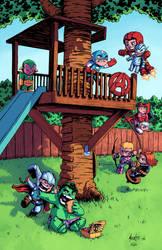 Avengers Tykes by J-Skipper