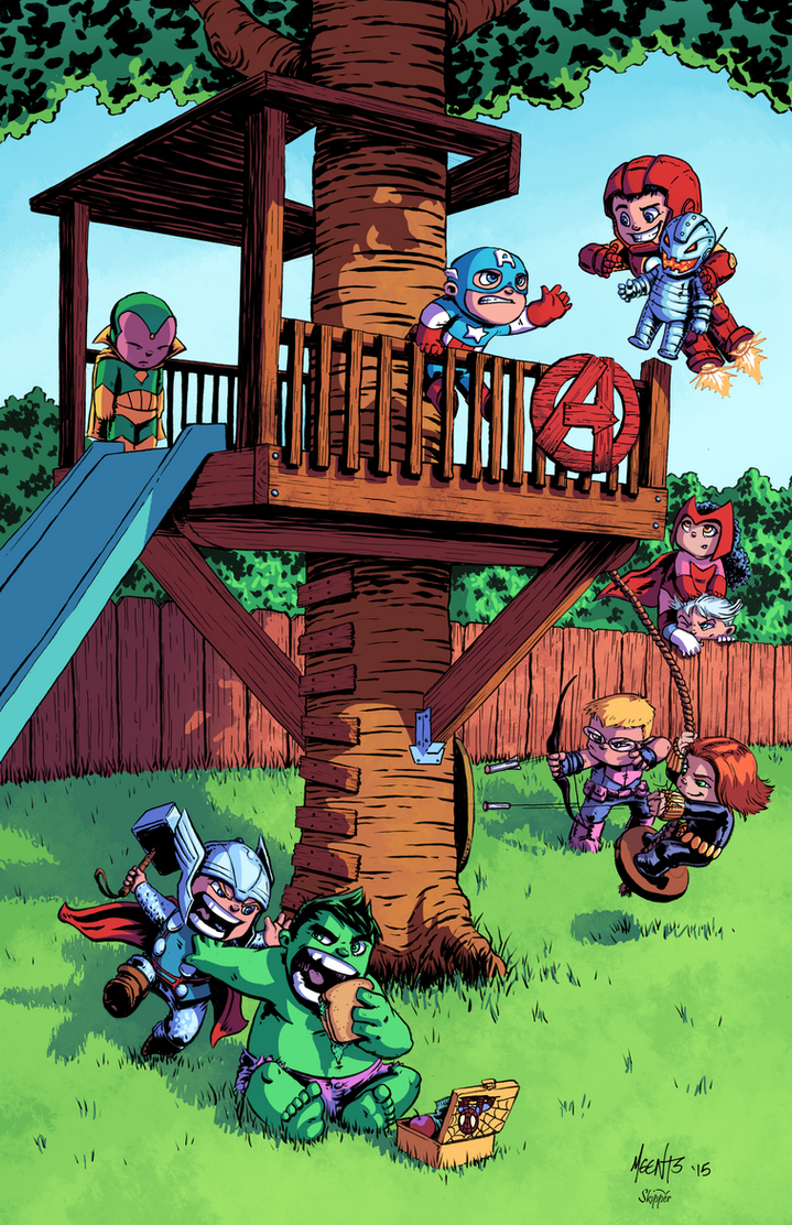 Avengers Tykes by J-Skipper