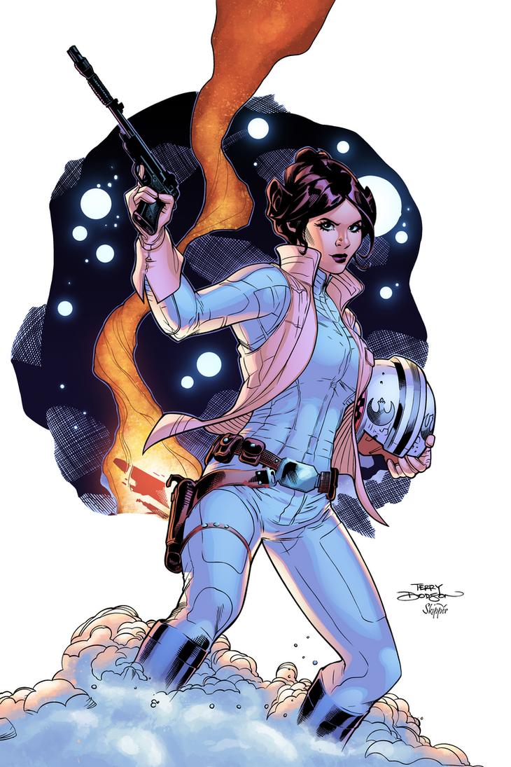 Leia Organa by J-Skipper
